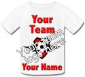 Personalised Kids Football Team T-Shirt