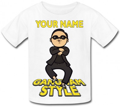 Personalised Gangnam Style T-Shirt