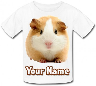 Personalised Guinea Pig T-Shirt