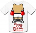 Personalised Boxer Body T-Shirt