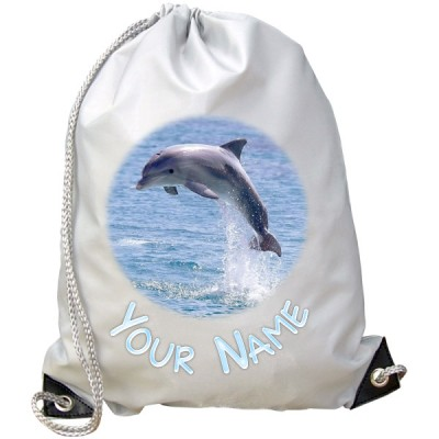 Personalised Dolphin Gym Bag