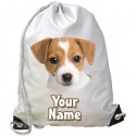 Personalised Jack Russell Gym Bag