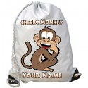 Personalised Cheeky Monkey Gym Bag