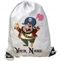 Personalised Pirate Gym Bag
