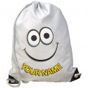 Personalised Smile Gym Bag