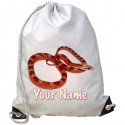 Personalised Snake Gym Bag