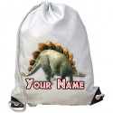Personalised Stegosaurus Gym Bag