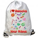 Personalised Sweetie Gym Bag