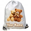 Personalised Teddies Gym Bag