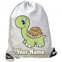 Personalised Turtle Gym Bag