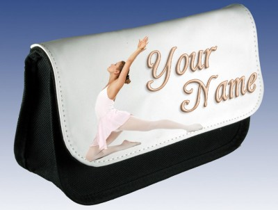 Personalised Ballet Dancer Pencil Case