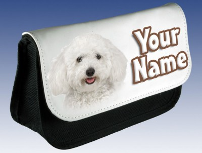 Personalised Bichon Frise Dog / Puppy Pencil Case
