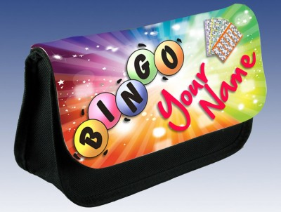 Personalised Bingo Dabber / Pen Case Bag