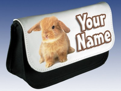 Personalised Bunny Rabbit Pencil Case