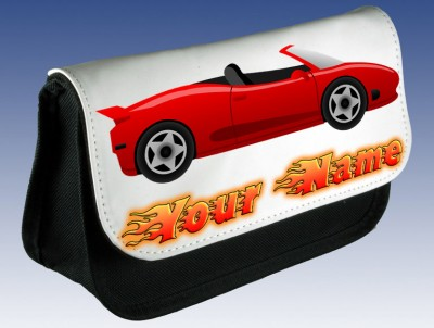 Personalised Sports Car Pencil Case