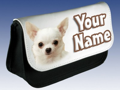Personalised Chihuahua Puppy Pencil Case