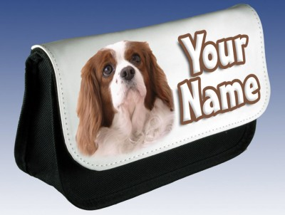 Personalised Cocker Spaniel Puppy / Dog Pencil Case