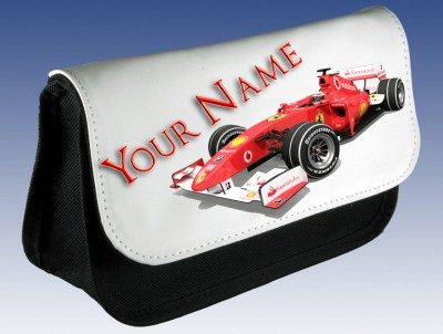 Personalised Formula One F1 Pencil Case