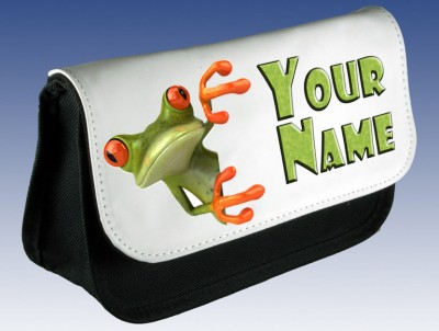 Personalised Tree Frog Pencil Case