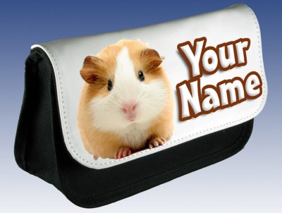 Personalised Guinea Pig Pencil Case