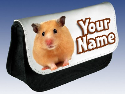 Personalised Hamster Pencil Case