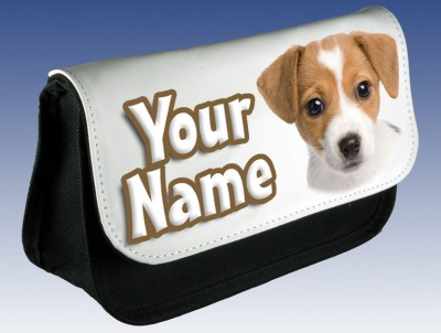 Personalised Jack Russell Pencil Case