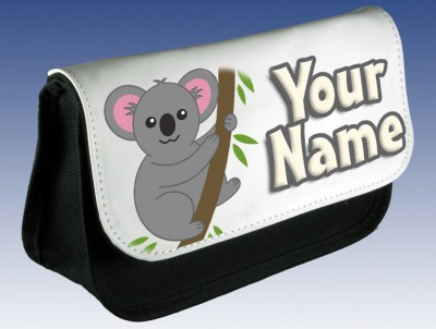 Personalised Koala Pencil Case