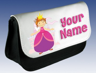 Personalised Princess (Pink) Pencil Case