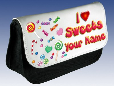 Personalised Sweetie Pencil Case