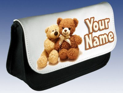 Personalised Teddy Bear Pencil Case