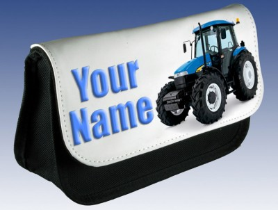 Personalised Tractor Pencil Case