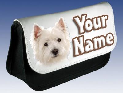 Personalised West Highland Terrier Pencil Case