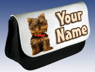 Personalised Yorkshire Terrier Pencil Case