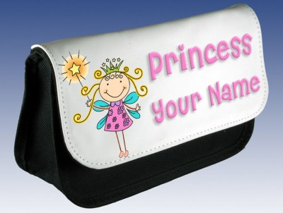 Personalised Princess Fairy Pencil Case