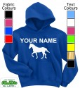 Personalised Horse Blue
