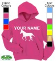 Personalised Horse Pink
