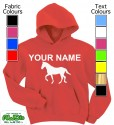 Personalised Horse Red