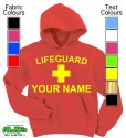 Personalised Lifeguard Red