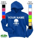 Personalised Skull Blue