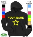 Personalised Star Black