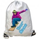 Personalised Snowboard Gym Bag