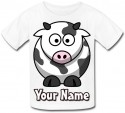 Personalised Cow T-Shirt