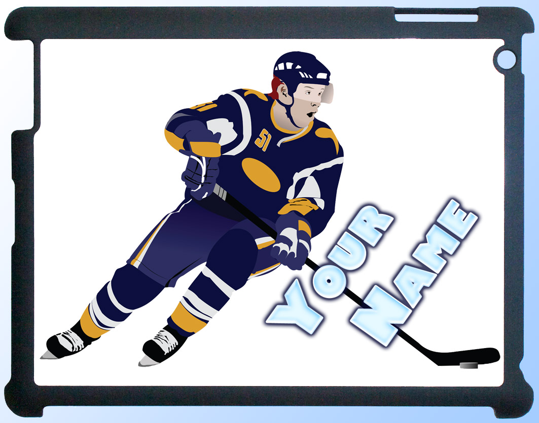 Ice Hockey iPad Case
