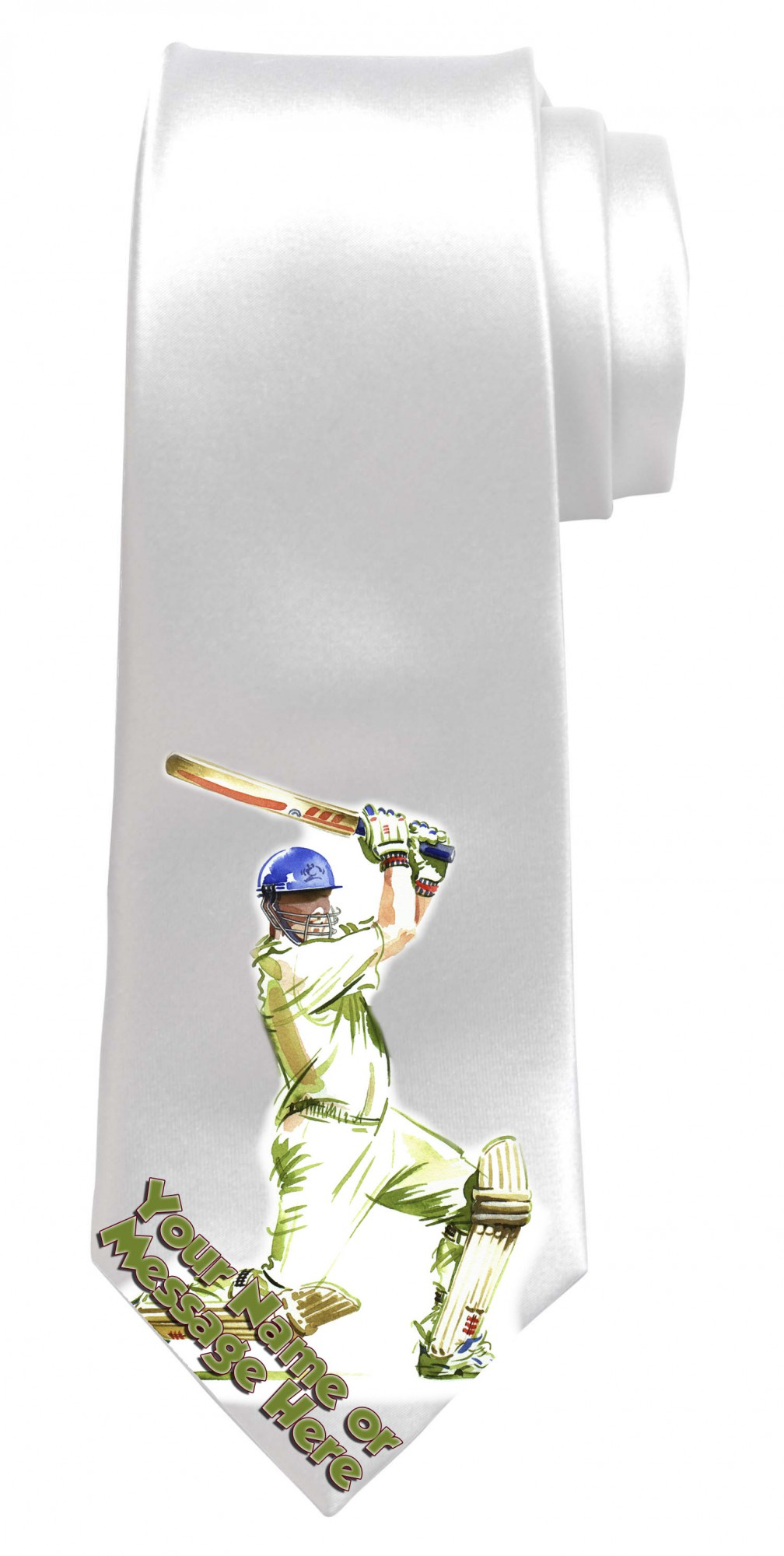 Personalised Cricket Necktie