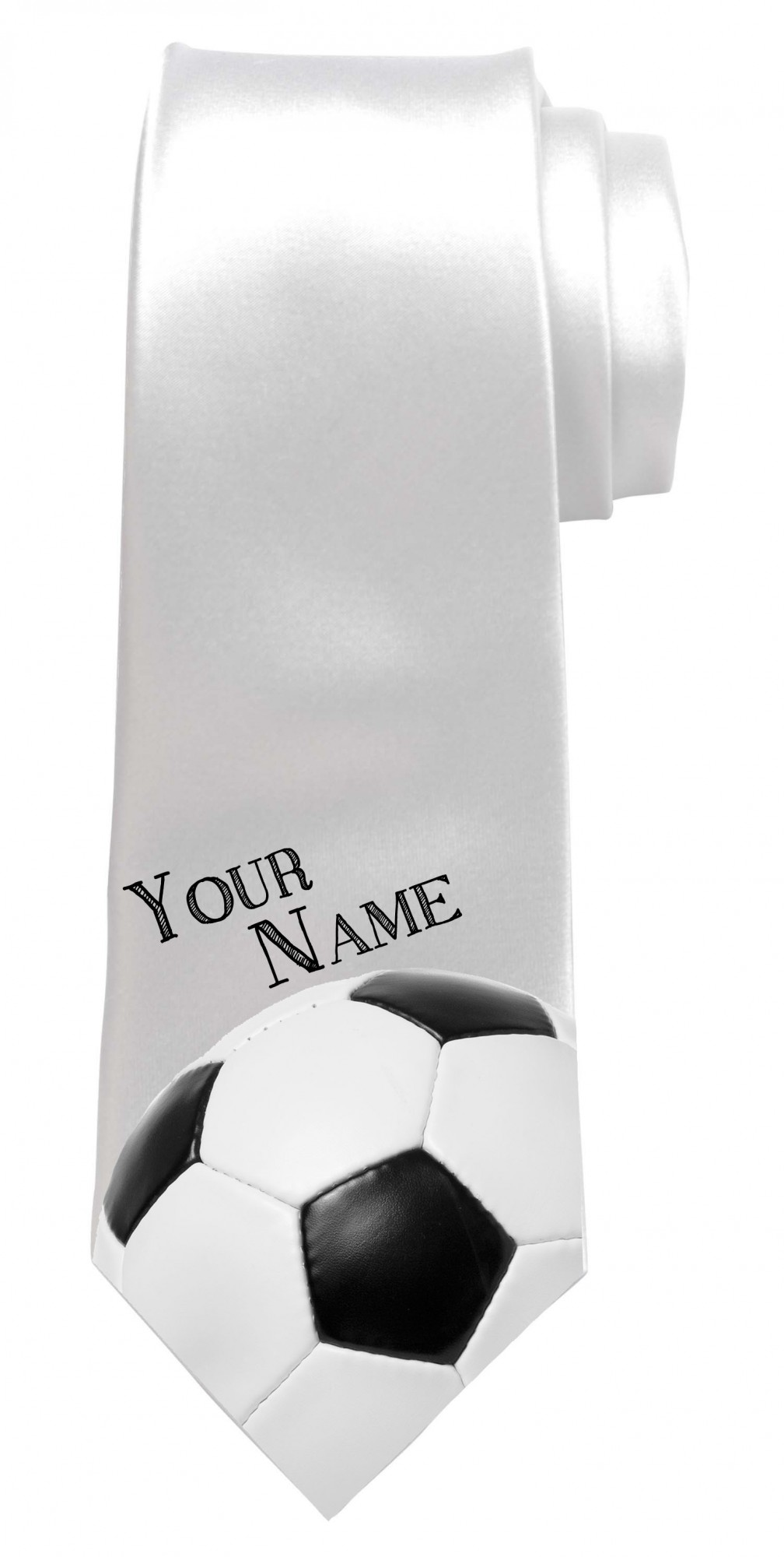 Personalised Football Necktie