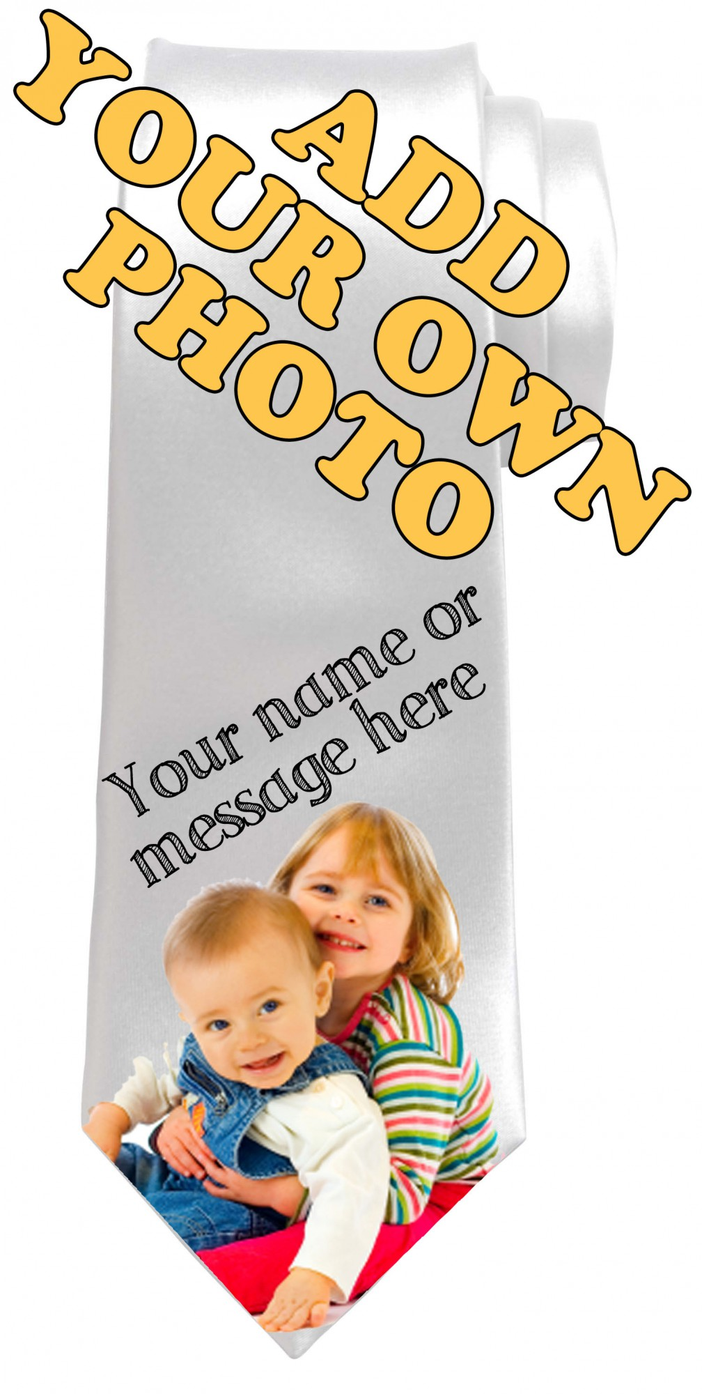 Personalised Own Photo Necktie