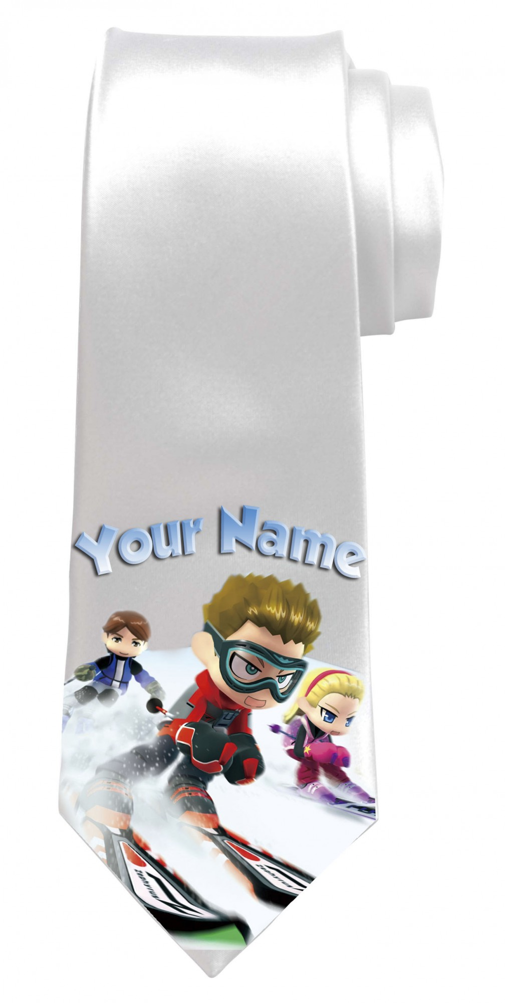 Personalised Ski Necktie