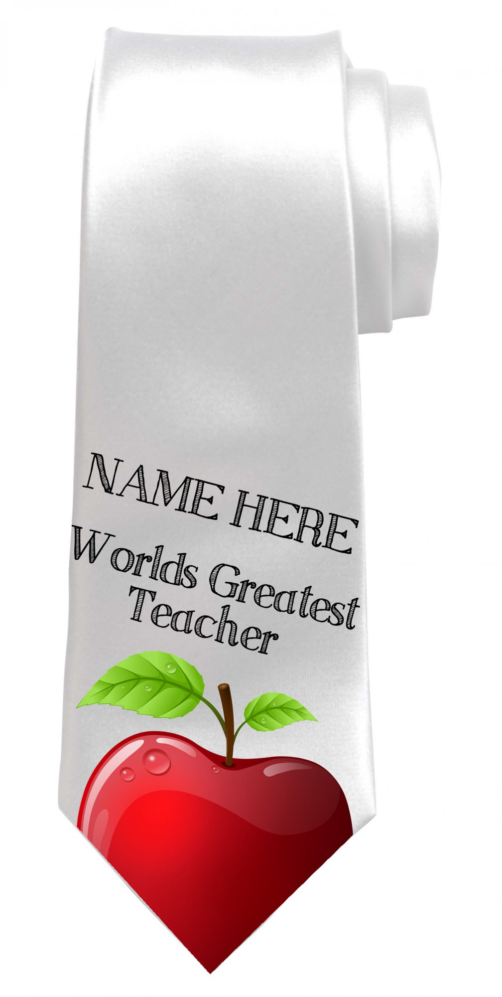 Personalised Worlds Greatest Teacher Necktie