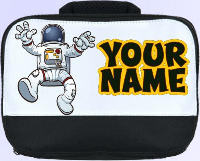 Personalized Astronaut Lunch Bag