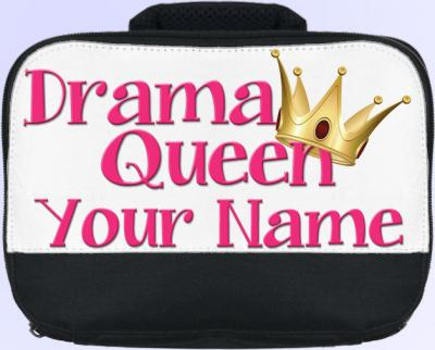 Personalized Drama Queen Lunch Bag